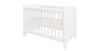 Cuna de doble altura para la habitación del bebé